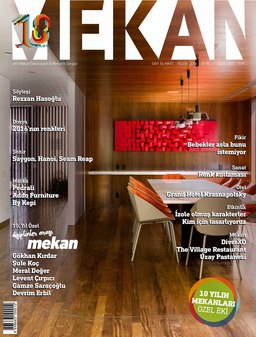 Mekan Magazine Turkey 2016